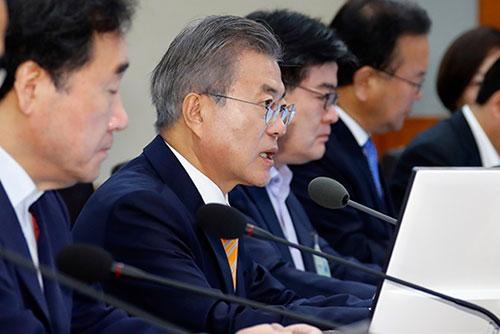 Moon Jae-in ordonne de revoir en profondeur le plan de réforme des retraites