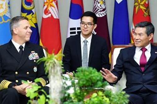 정경두, 미 인도태평양사령관과 면담…한미공조 논의