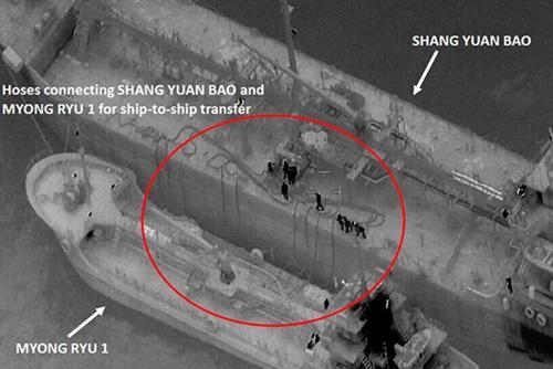 Nga đã cung cấp 26.162 tấn xăng dầu cho Bắc Triều Tiên trong 9 tháng đầu năm