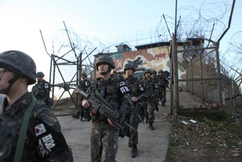 Beide Koreas beginnen mit Abriss von Wachposten an der Frontlinie