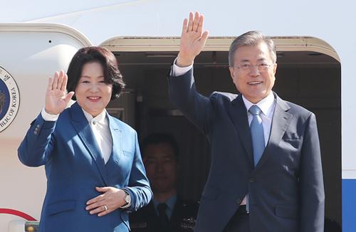 Präsident Moon bricht morgen zu Besuchen nach Singapur und Papua-Neuguinea auf