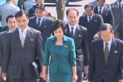 Hochrangige Delegation Nordkoreas in Südkorea eingetroffen