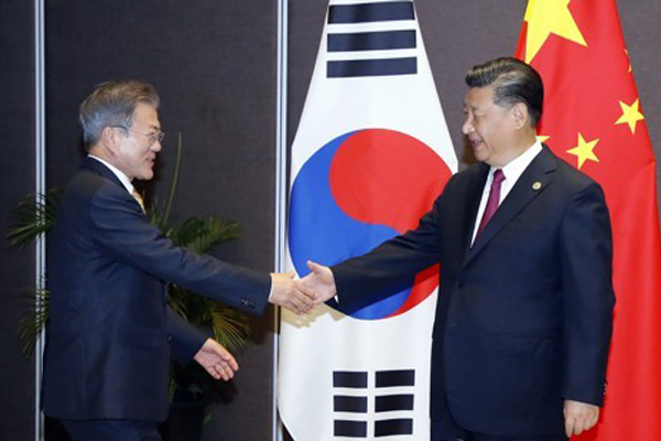 Moon, Xi Agree to Cooperate for Successful 2nd US-N. Korea Summit