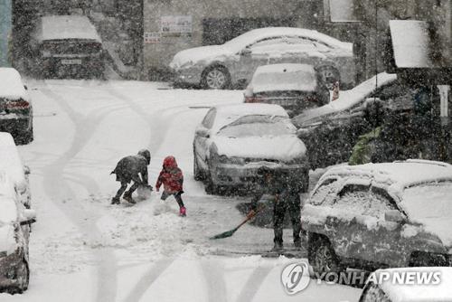 Seoul Alami Rekor Salju Pertama Musim Dingin