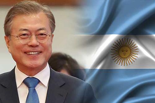 Tổng thống Hàn Quốc công du Séc, Argentina và New Zealand