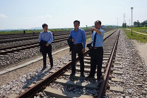 南北韩30日开始进行为期18天的铁路联合调查