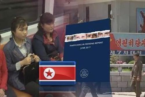 La Corée du Nord toujours dans la liste américaine des pays exerçant la traite d'êtres humains