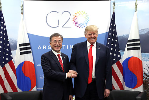 Moon, Trump Agree to Keep Sanctions until Complete Denuclearization