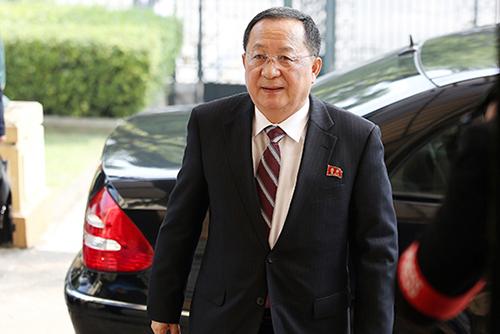 習中国主席、北韓外相と会談 中朝連携を再確認
