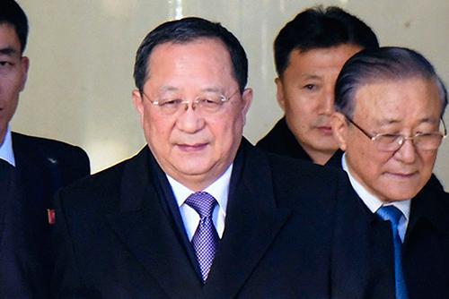 Nordkoreas Außenminister trifft in Peking chinesischen Amtskollegen