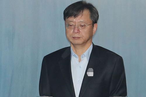 '불법사찰 혐의' 우병우, 1심에서 징역 1년 6월 선고