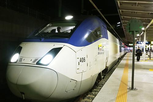 Retour à la normale sur la ligne KTX Séoul-Gangneung