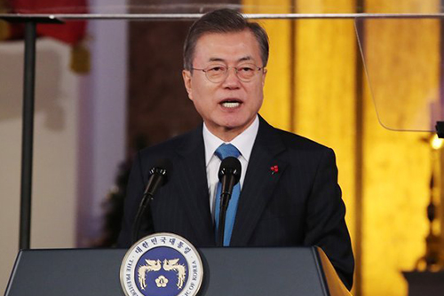 Pres. Moon Included in Time's Shortlist of 2018 Person of the Year
