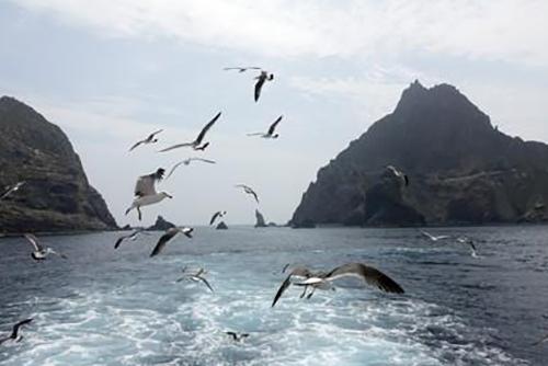 今年独岛访客共计22万1056人 2013年以后最多