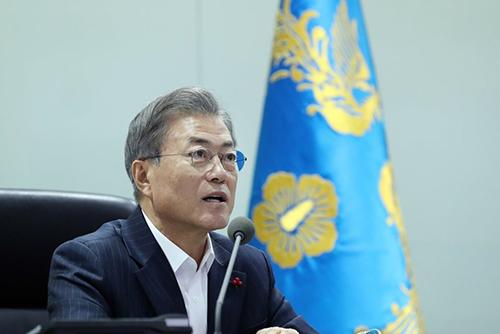 Präsident Moon bezeichnet Abzug von Wachposten aus DMZ als historisches Ereignis