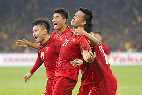 Vietnam Led by Star Head Coach Ties with Malaysia in AFF Suzuki Cup