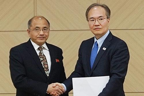 Koreas tauschen probeweise Informationen zur Grippe aus