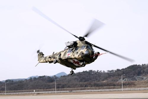 국산 의무후송전용헬기 첫 도입…KAI, 2천억원 공급계약