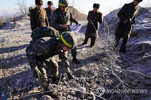 Confirman la completa inhabilitación de los puestos de guardia norcoreanos