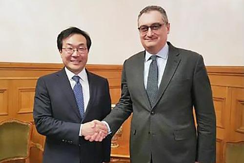 6か国協議の韓露首席代表 ソウルで会談