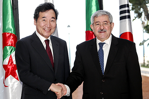 PM Seeks Algeria's Support for S. Korean Business Infrastructure Initiatives
