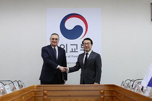 Pejabat Kemenlu Korea Selatan dan Rusia Bertemu di Seoul