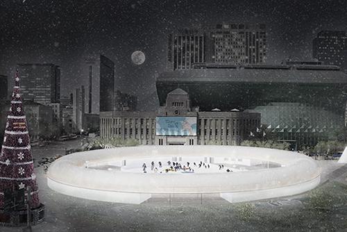 ソウル広場スケート場がオープン、でも...