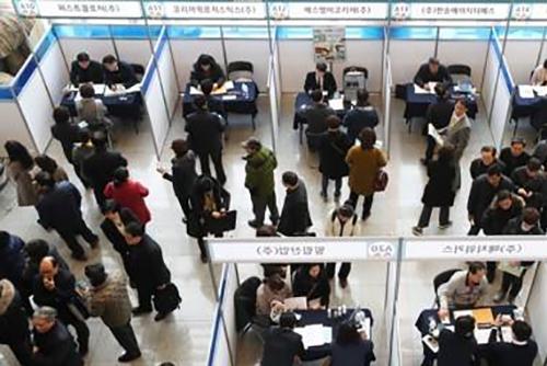 زيادة كبيرة في عدد الأجانب الذين حصلوا على فرص عمل في كوريا