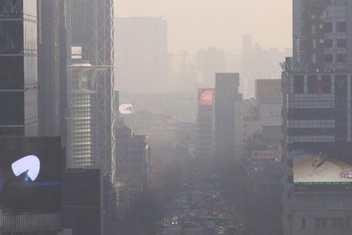 PM2.5汚染はソウルで発生したもの 中国政府が主張