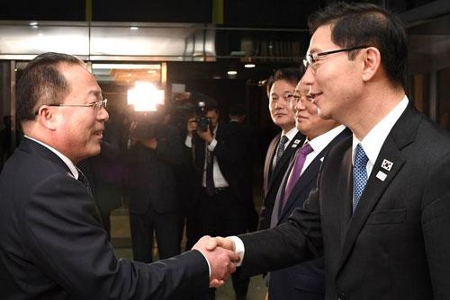 南北韩在联络事务所最后一次会议商定明年也为和平作出努力