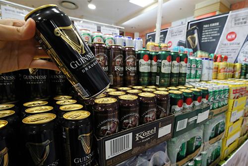 去年のビール輸入額 10年ぶりのマイナス