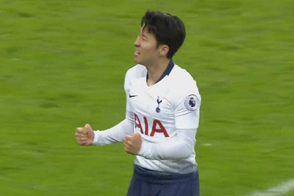 Son Heung-min Scores 12th Goal of Season
