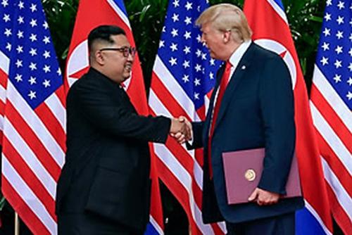 """일본 언론 """"트럼프, 북한에 '내달 중순 베트남서 2차 정상회담' 제안"""""""