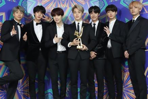 BTS sera présent à la 61e cérémonie des Grammy Awards