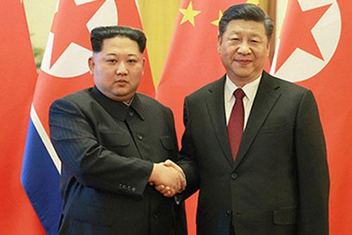 Líderes de China y Corea del Norte esperan resultados positivos de la cumbre Trump-Kim