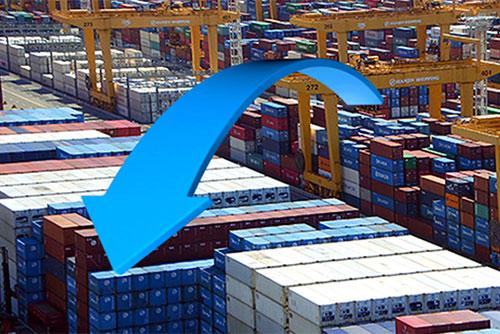 新年も輸出の減少続く 半導体輸出の減少が影響