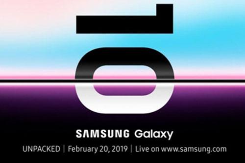 Samsung présentera le Galaxy S10 le 20 février à San Francisco