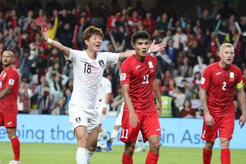 韓国が決勝トーナメント進出 アジア杯サッカー