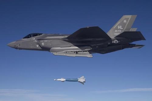 美向韩方交付6架F-35A战斗机 2架3月底抵韩