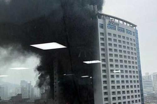 中部天安のホテルで火災 1人死亡、19人負傷