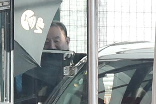 Top N. Korean Official Kim Yong-chol Leaves for Washington