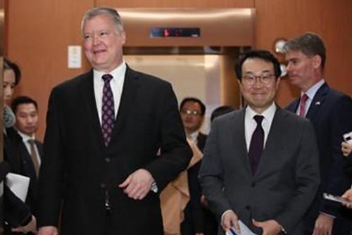 Seúl y Washington mantienen una videoconferencia sobre temas norcoreanos