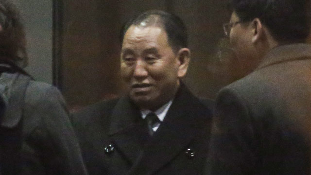 El negociador norcoreano Kim Yong Chol llega a Washington