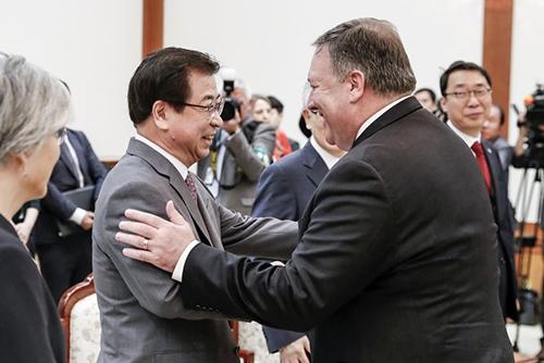 国家情報院長 米朝交渉加速化のため先週末に訪米