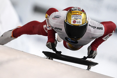 スケルトンのユン・ソンビン シーズン通してすべてでメダル獲得