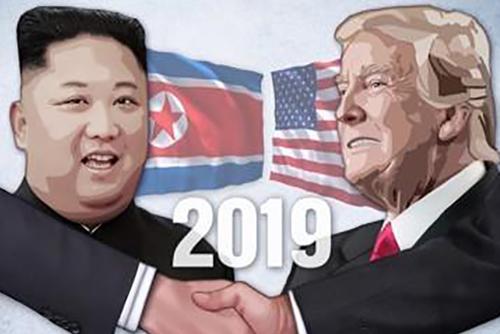 Maison blanche : le prochain sommet entre Donald Trump et Kim Jong-un aura lieu « fin février »