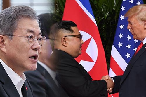 韓半島問題「二度とない機会」 文大統領が一致団結呼びかける