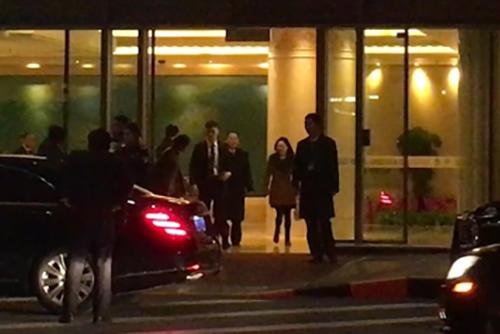 Kim Yong-chol est arrivé à Pékin avant de regagner Pyongyang