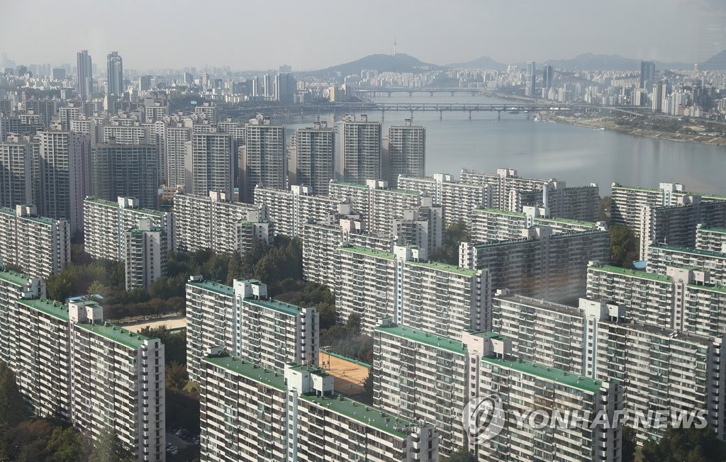 S. Korea Aims to Hold Down Growth in Household Debt to 4% Range Next Year