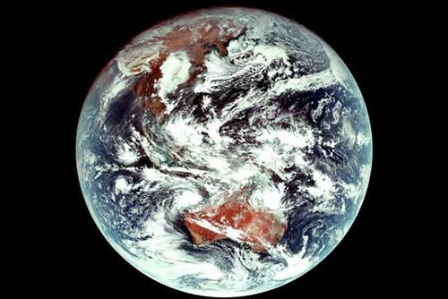 Satelit Cheollian 2A Berhasil Mengirim Gambar Pertamanya